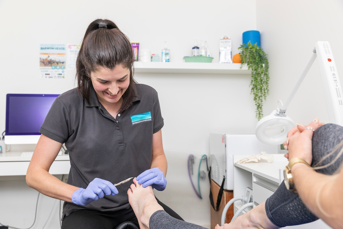 podiatrist Breamlea